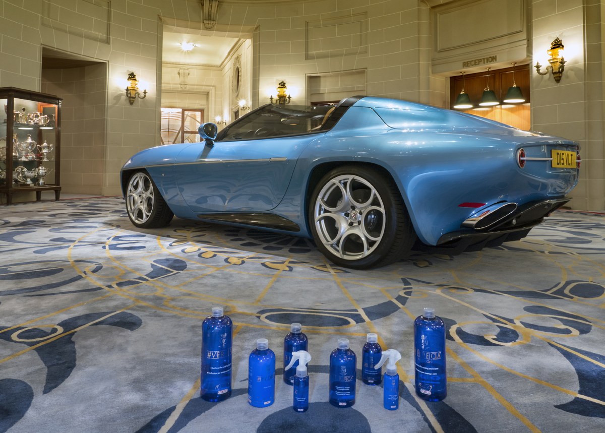 Disco Volante Spyder 2016  Royal Automobile Club Pall Mall London