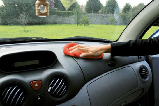 Come igienizzare la propria auto