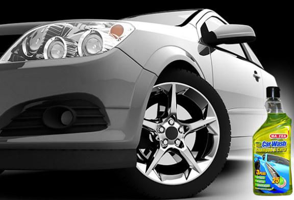 Prodotti per auto: il nuovo CAR WASH Shampoo & Cera