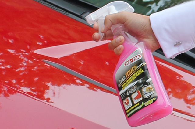 lucidare auto con last touch di mafra