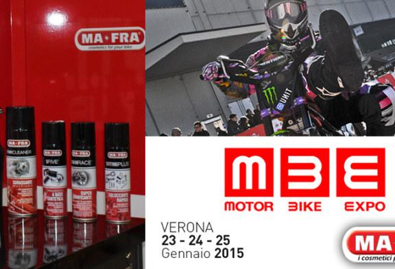 Ma-Fra inaugura la stagione fieristica 2015 al Motor Bike Expo di Verona