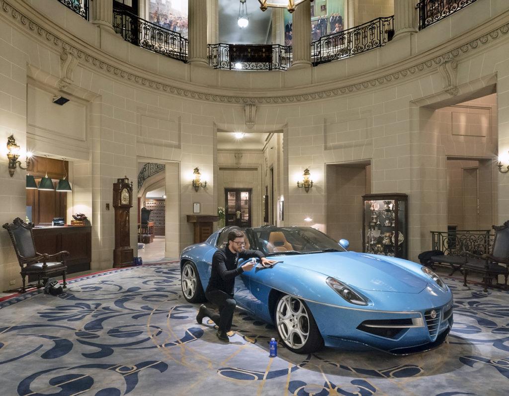 Disco Volante Spyder 2016 Royal Automobile Club Pall Mall London