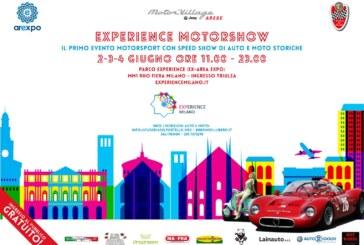 Tre giorni di passione con l'experience motorshow