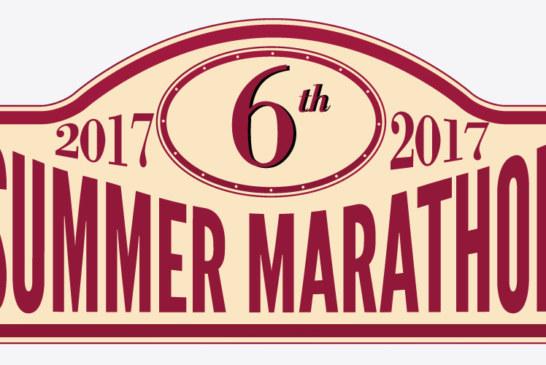 """Tutto pronto per la sesta edizione della """"Summer Marathon 2017"""" con MA-FRA."""