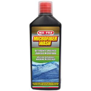 Microifber Wash di Mafra è il detergente specifico per il lavaggio di panni e guanti in microfibra come il Condom Wash