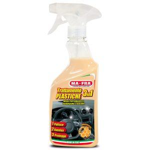 Trattamento 3in1 Plastiche per la manutenzione delle plastiche per pulire il vano motore