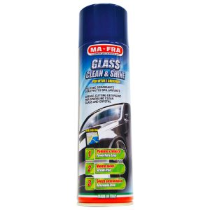Glass Clean & Shine pulitore sgrassante effetto brillante per vetri e cristalli auto | Kit Box Self Special Condom Wash