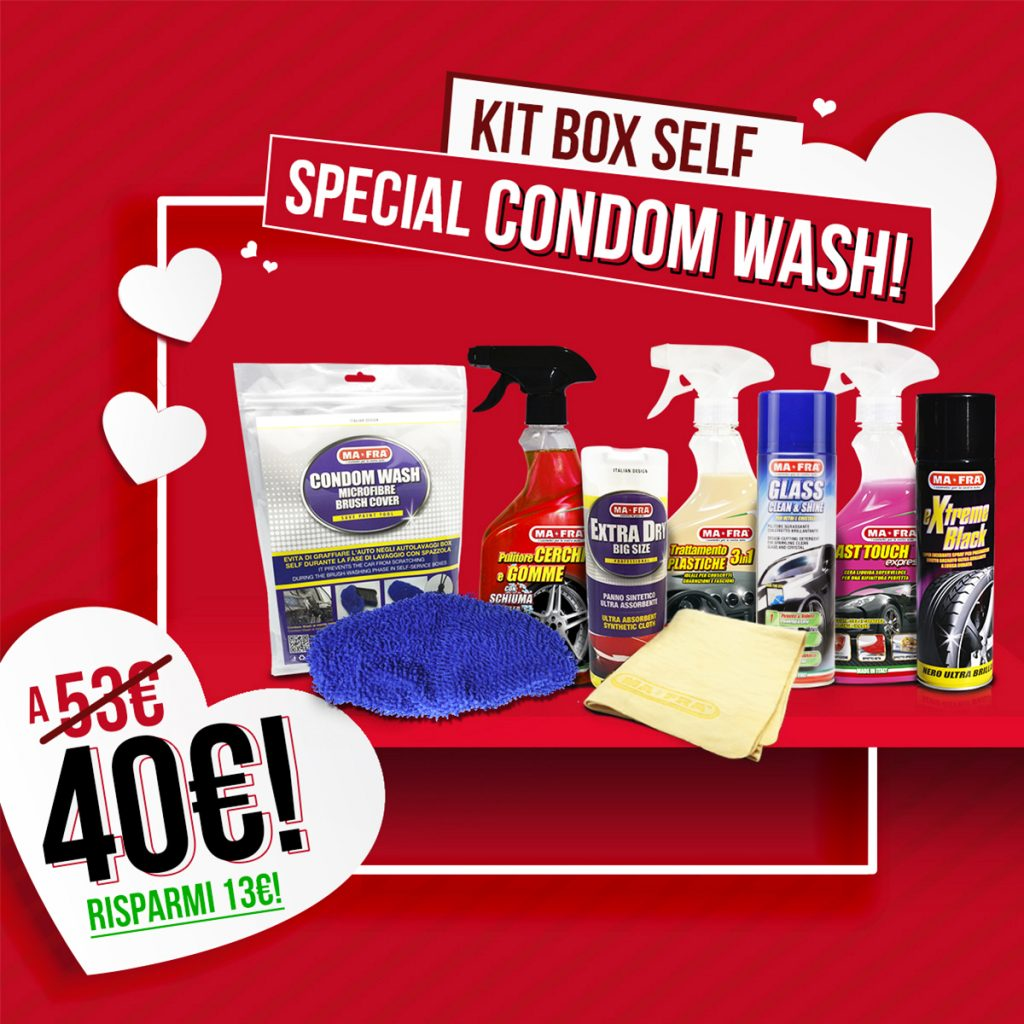 Kit Box Self Special Condom Wash