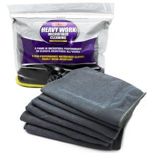 Heavy Work panni in microfibra per pulire il vano motore dell'auto