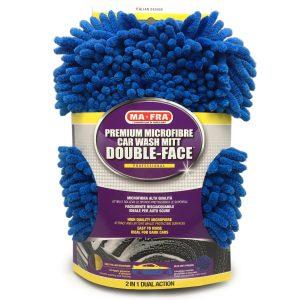 guanto double Face pulizia auto