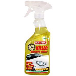 Killer di Mafra, rimuovere in modo facile, veloce ed efficace moscerini ed insetti dalla proprio auto