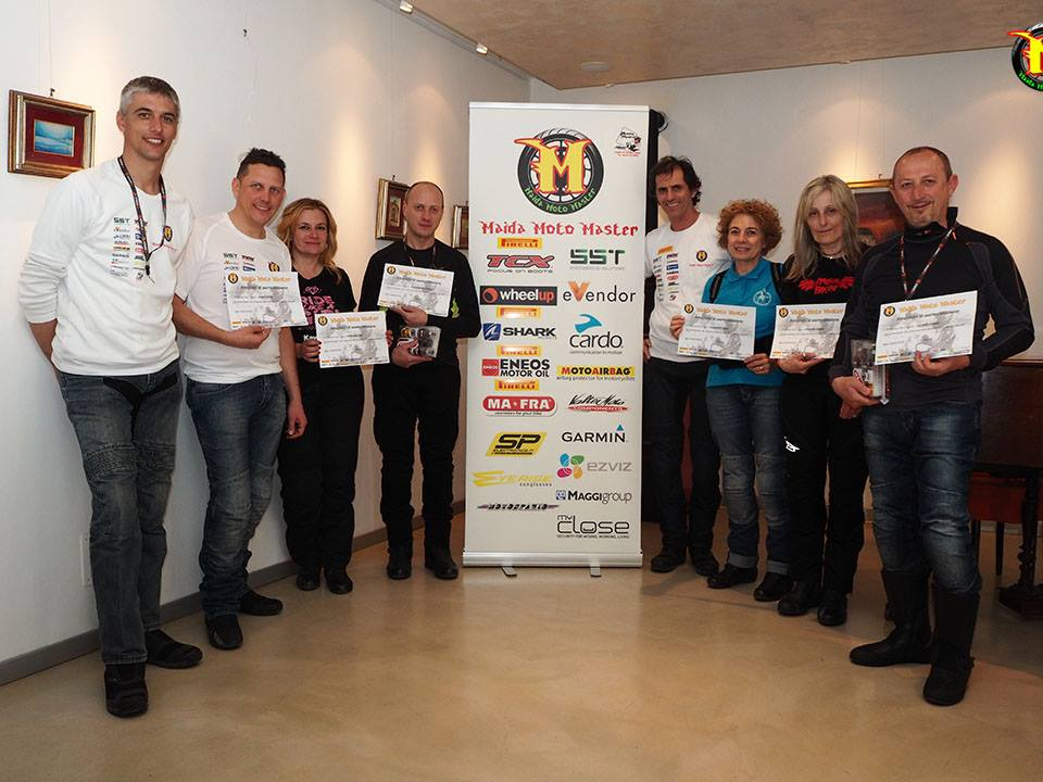 Attestati corso Maida Moto Master