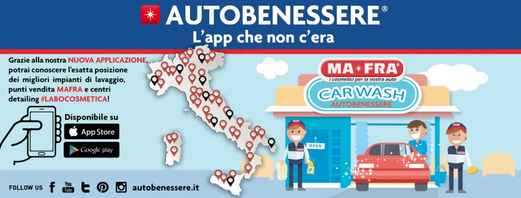 App Autobenessere di Mafra ad Autopromotec 2019
