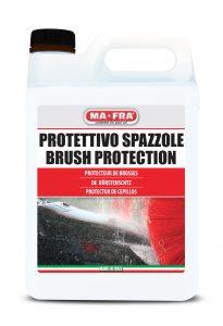 Protettivo per l'impianto e le spazzole: utilizzato periodicamente. Il prodotto protegge dal deterioramento le pareti dell'impianto e ogni tipo di spazzola Autopromotec 2019