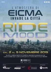 EICMA 2019 invade la città di Milano con RIDEMOOD