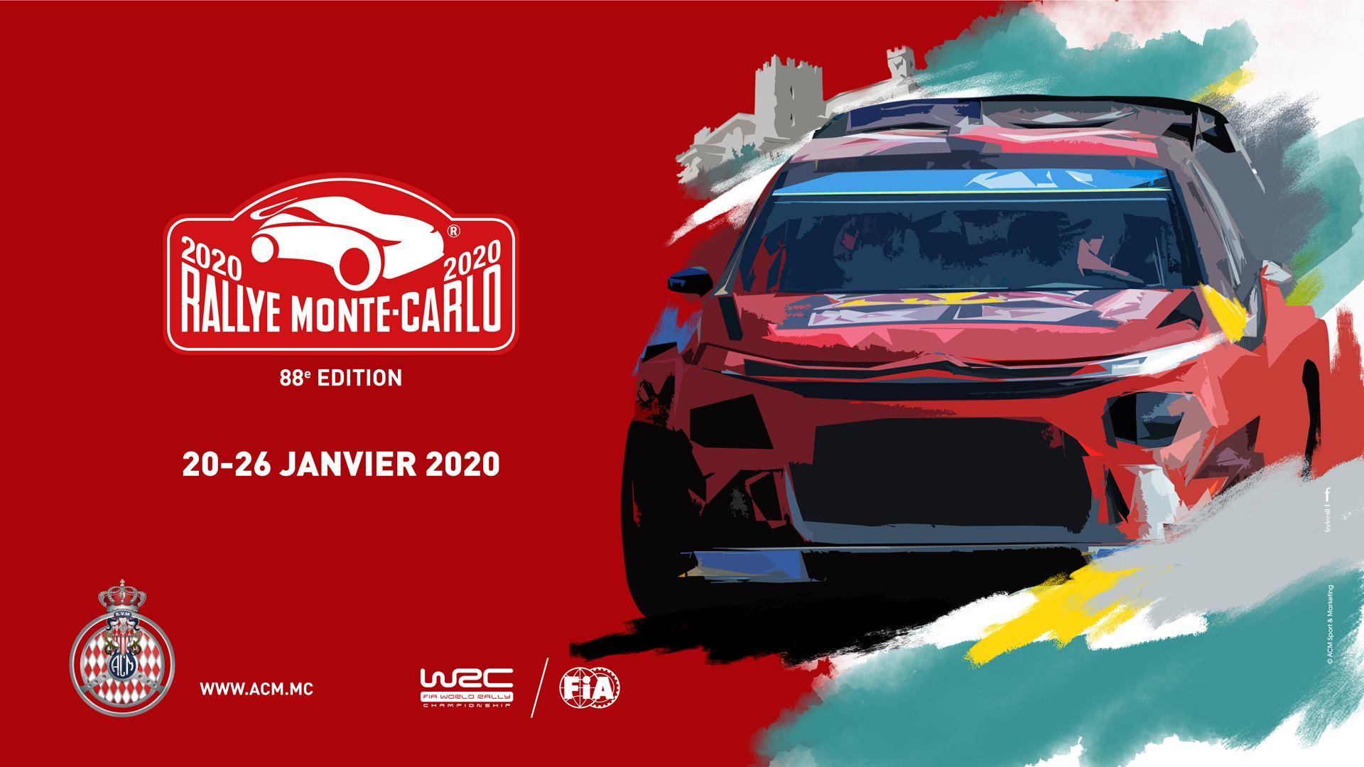Copertina Rally Montecarlo 2020