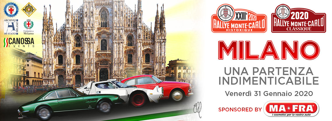 Rally Montecarlo Historique 2020 Mafra Official Sponsor