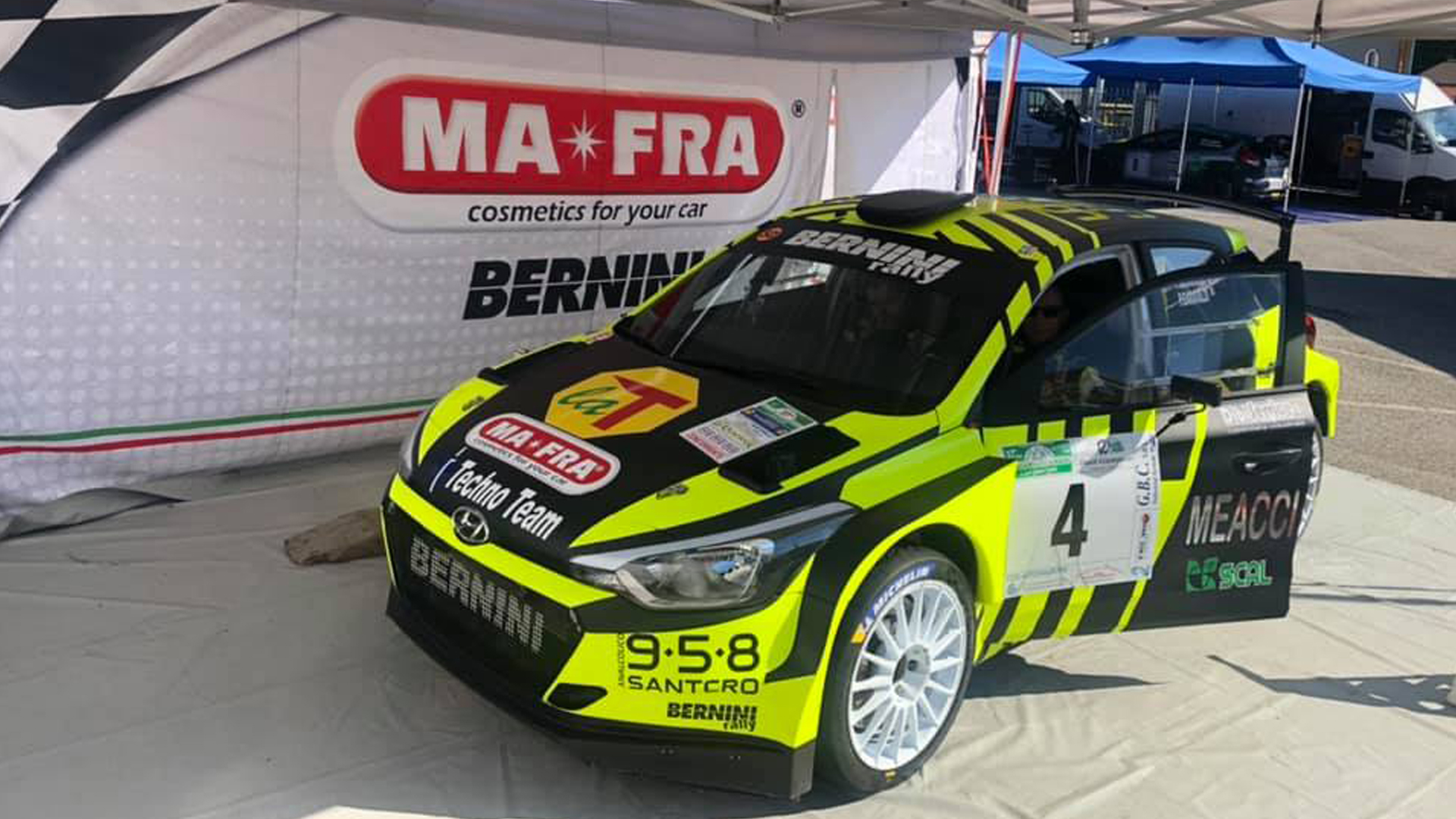 Mafra Sponsor Team Bernini Rally