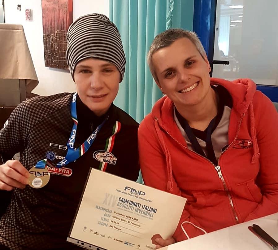 Katia Aere Campionessa paralimpica