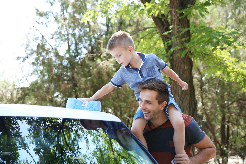 Festa papà lavaggio auto