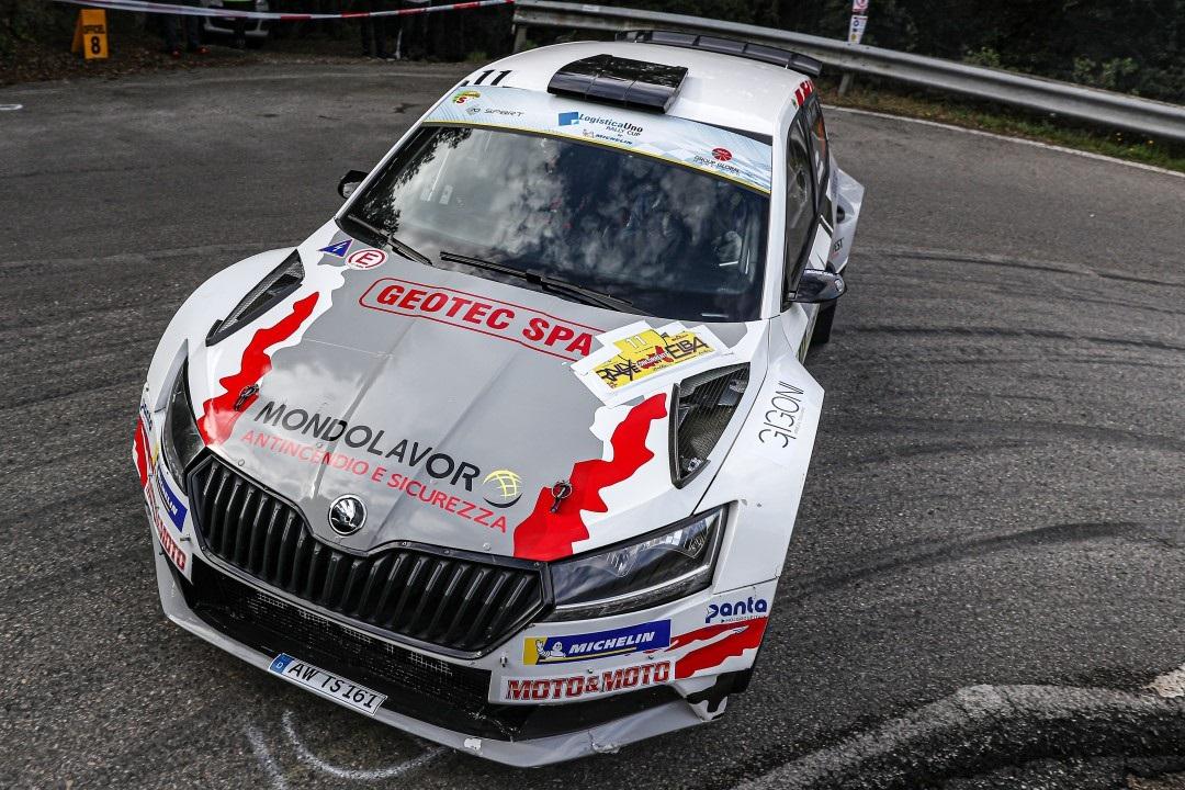Testa si aggiudica la prima tappa della Logisticauno RallyCup
