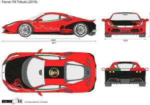 La Ferrari F8 Tributo