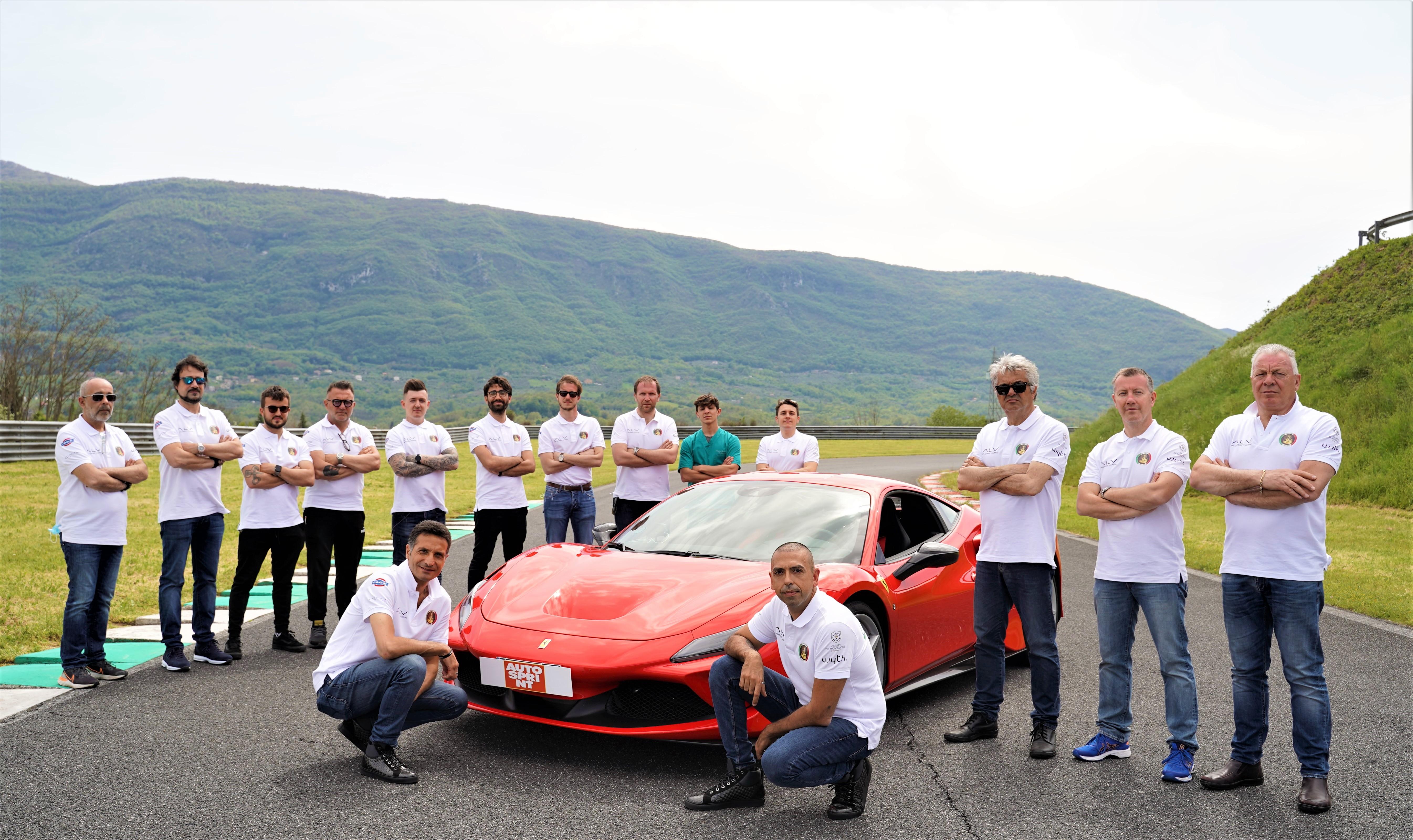 Fabio Barone Ferrari World Record 2021